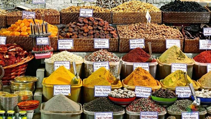 Mısır Çarşısı istanbul gezilecek yerler
