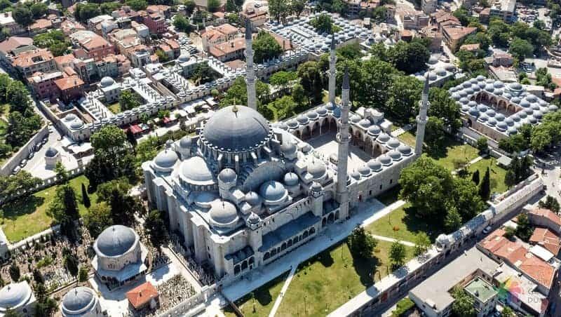 Süleymaniye camii istanbul gezi rehberi
