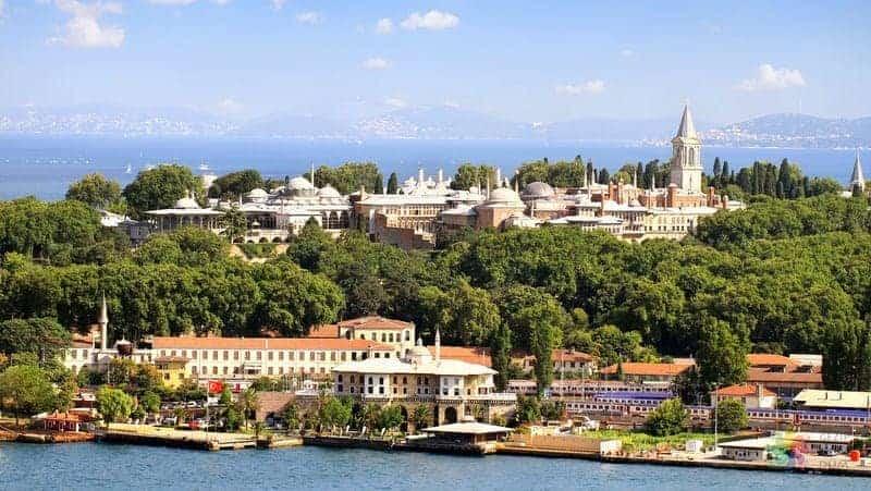 Topkapı Sarayı İstanbul'da gezilecek yerler