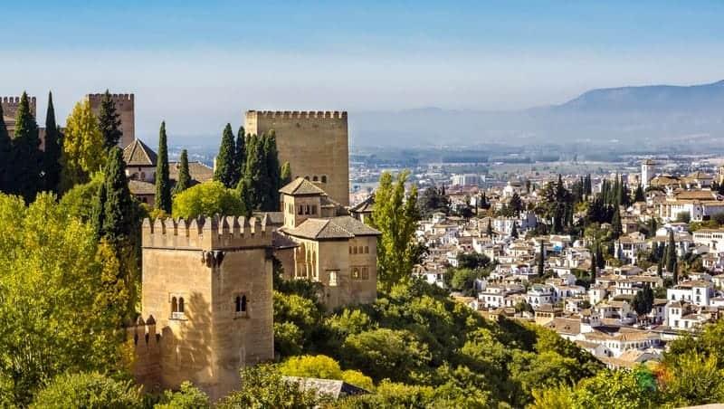 İspanya Endülüs Granada'da konaklama