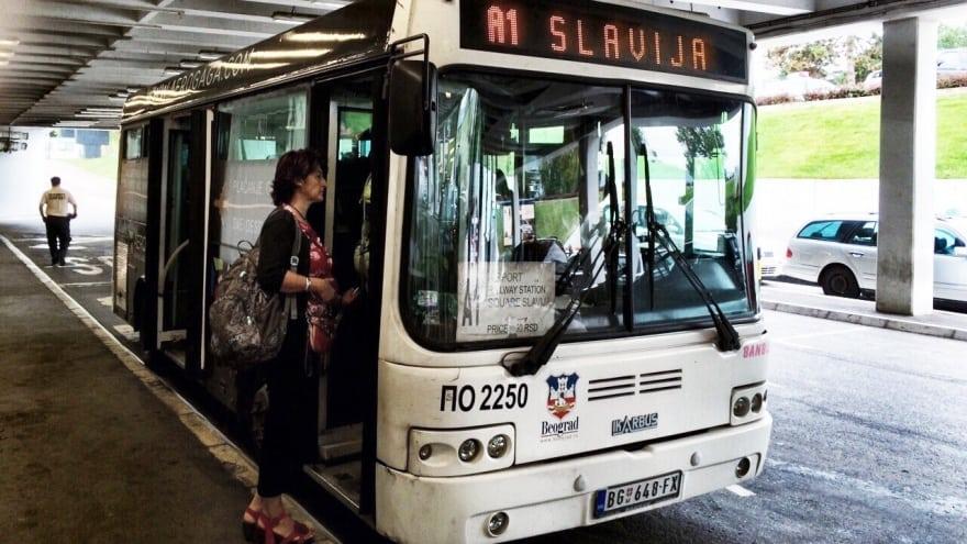 Belgrad havaalanı ulaşım araçları A1 otobüs