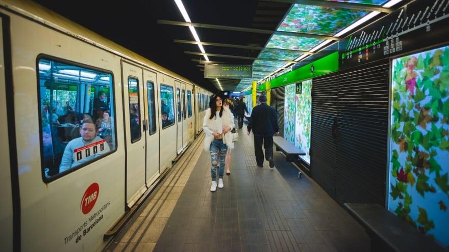 Barselona havaalanı metro