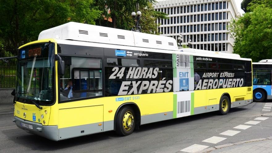 Madrid Havaalanı Expres Otobüs