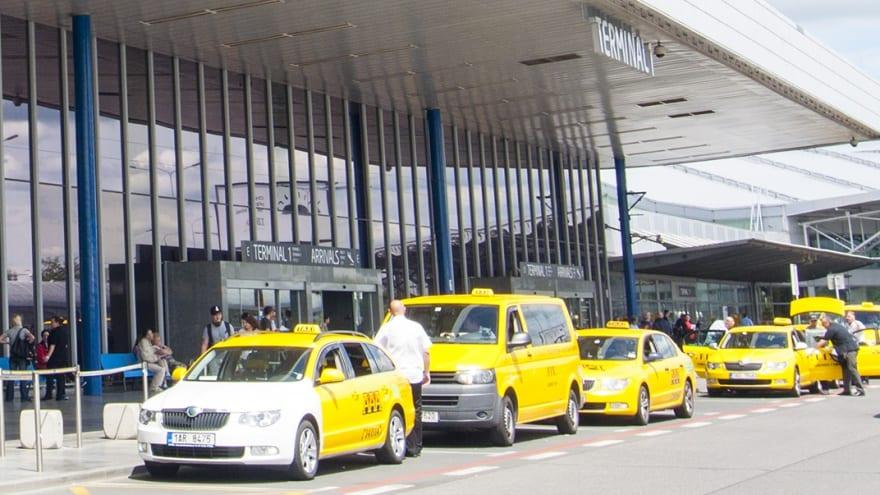 Prag Havaalanı Ulaşım Taksi