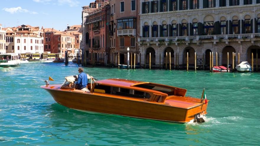 Venedik Havaalanı Rehberi Su Taksisi