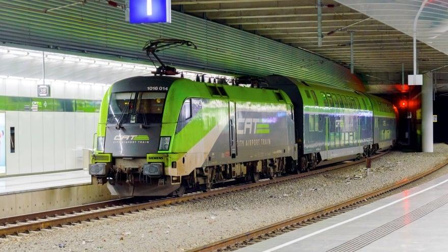 Viyana Havaalanı Ulaşım havaalanı treni