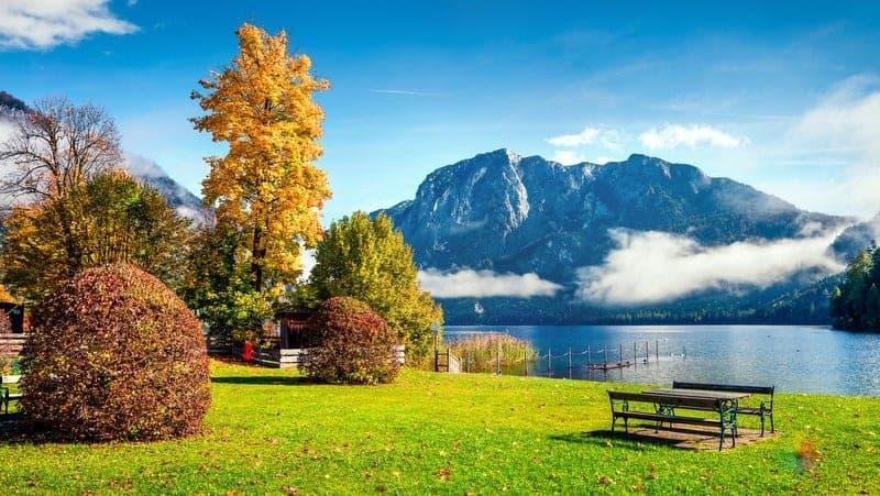 Altausseer See lake Hallstatt'ta gezilecek yerler