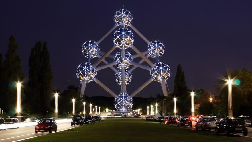 Atomium Brüksel'de yapılacak şeyler