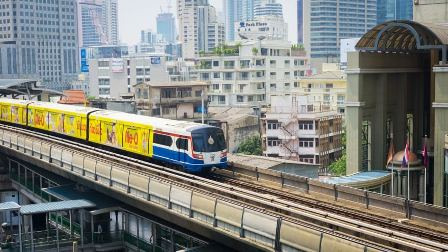 Bangkok yapılacak şeyler listesi BTS Skytrain