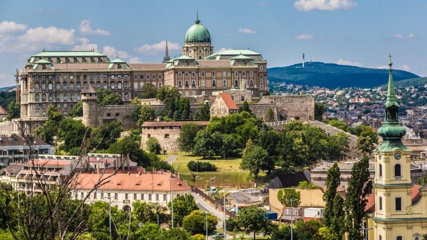 Budapeşte'de neler yapılmalı Buda Kalesi Budin Kalesi