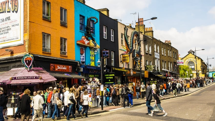 Camden Town Londra'da yapılması gerekenler