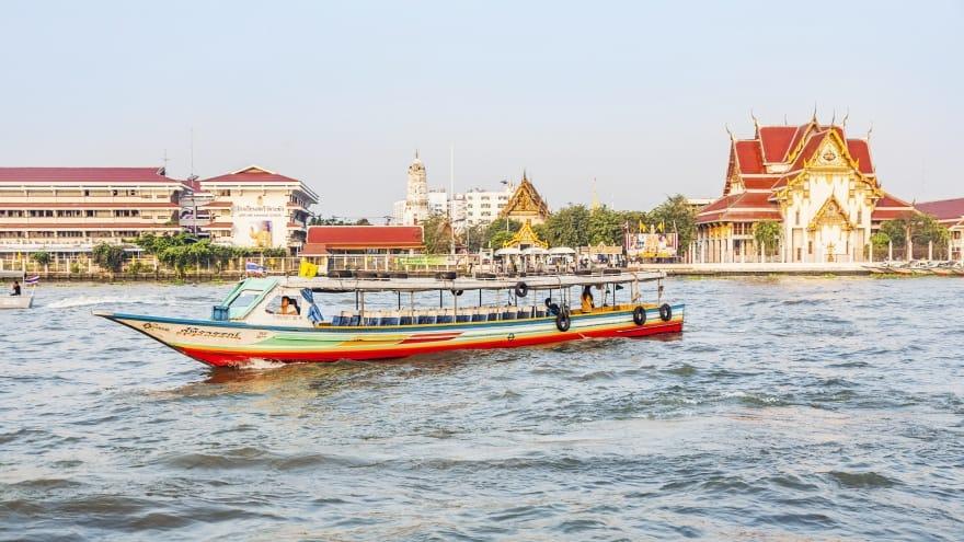 Bangkok'ta ne yapılır? Tekne turu