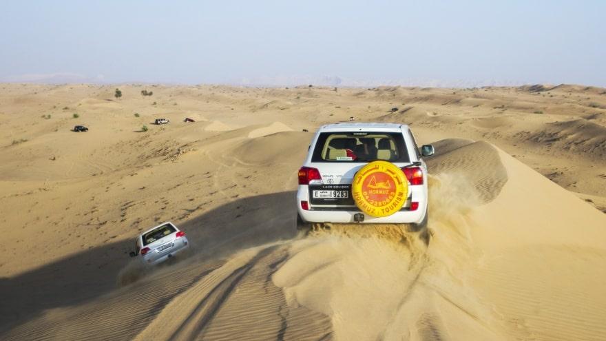 Dubai'de ne yapmalı? Jeep Safari