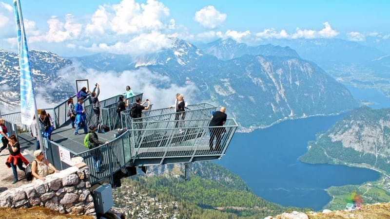 Hallstatt turu 5 Fingers Skywalk