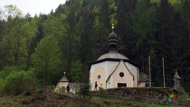 Kalverienberg Kilisesi Hallstatt gezilecek yerler