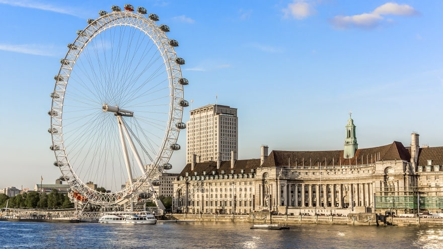 London Eye Londra'da yapılacak şeyler