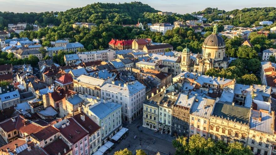 Rynok Square Lviv'de ne yapılır?