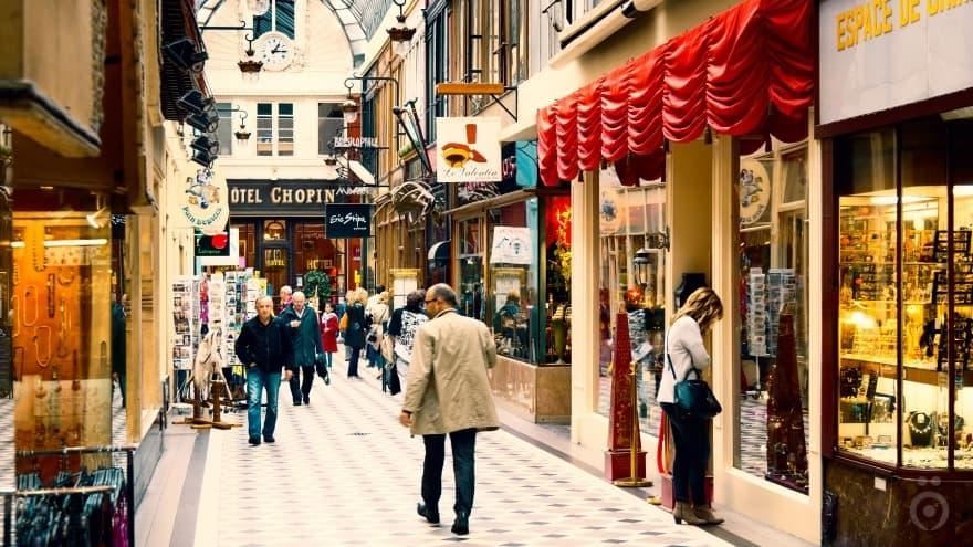 Paris'te ne yapılır? Alışveriş