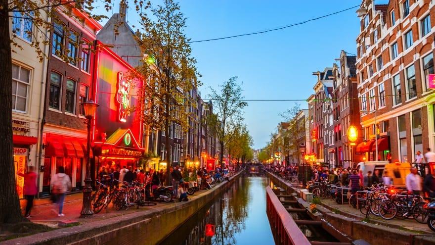 Amsterdam'da yapılacak şeyler, Kırmızı Fener Mahallesi Turu