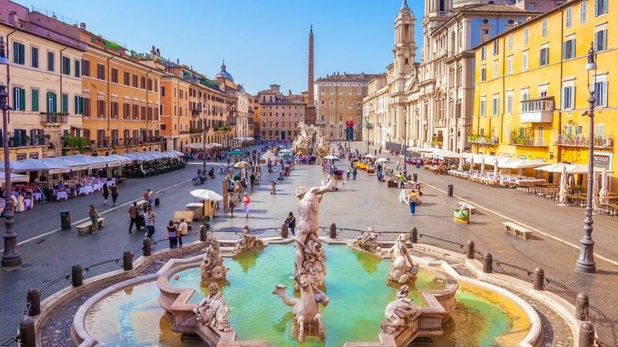 Meydan turu Roma'da yapılacak şeyler