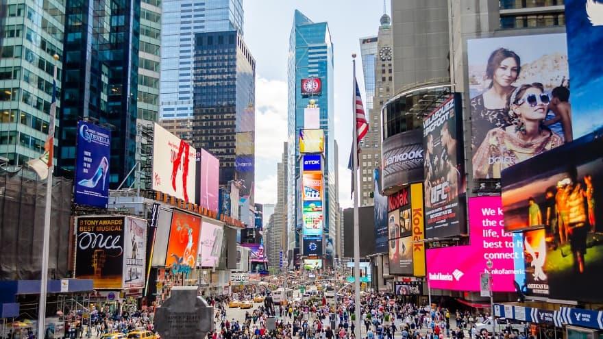 New York'ta ne yapılır? Times Square