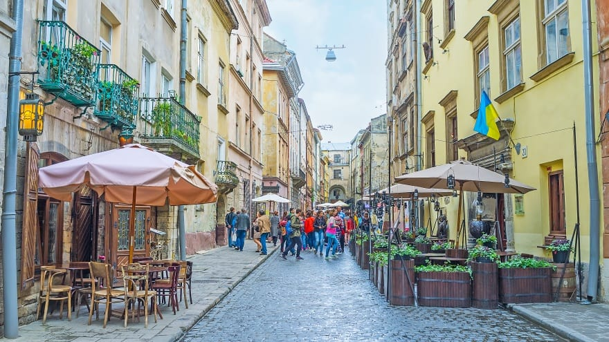 Virmenska Caddesi Lviv'de ne yapılır?