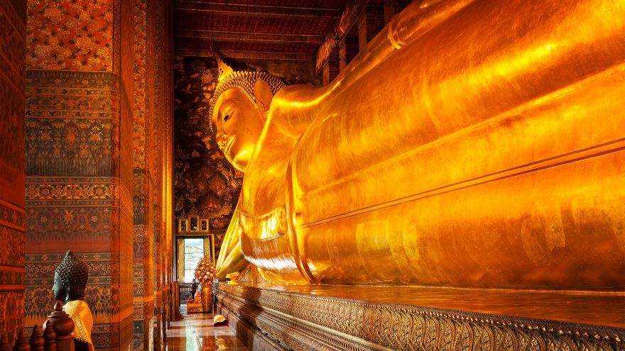 Wat Pho Bangkok'ta yapılacak şeyler l