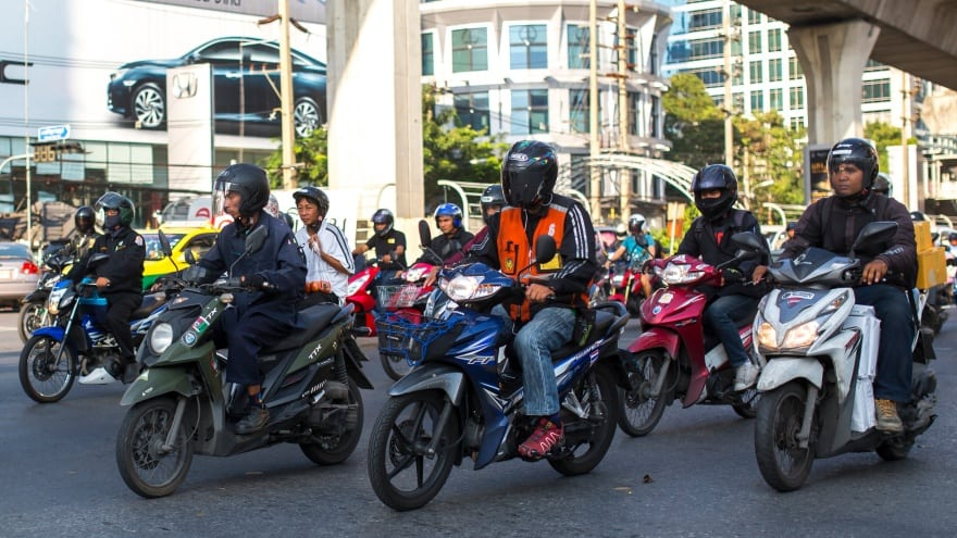 Bangkok'ta neler yapmalı? moto taksi