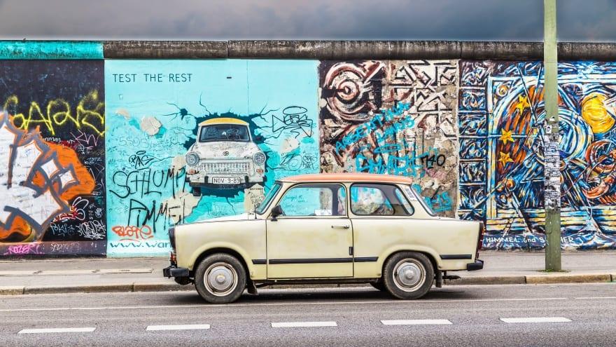 Berlin'de yapılacak şeyler Berlin Duvarı
