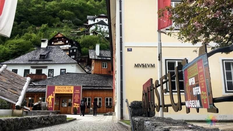 Arkeoloji Müzesi Hallstatt'ta gezilecek yerler