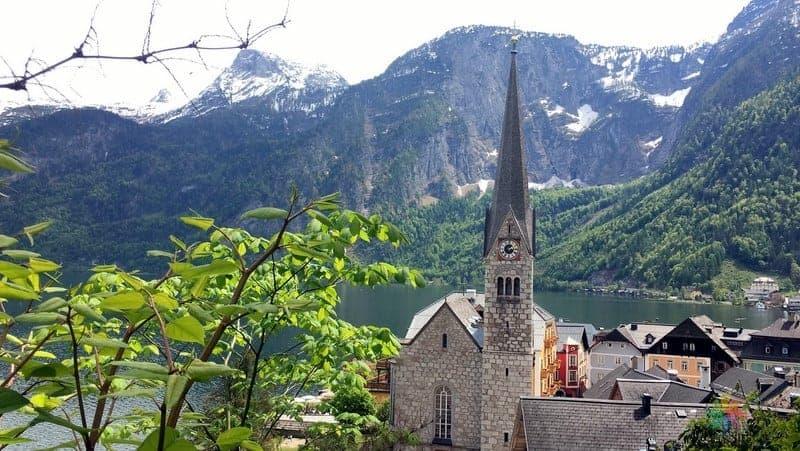 Evanjelik Kilisesi Hallstatt'ta gezilecek yerler