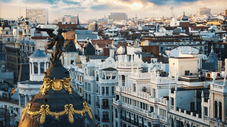 Madrid'de ne yapılır? manzara