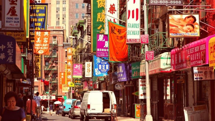 New York yapılacak şeyler chinatown