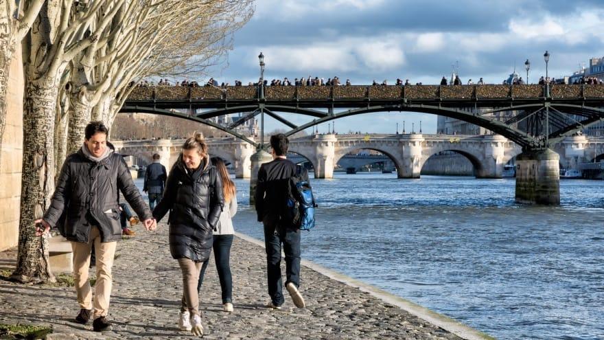 Paris'te yapılması gerekenler, yürüyüş
