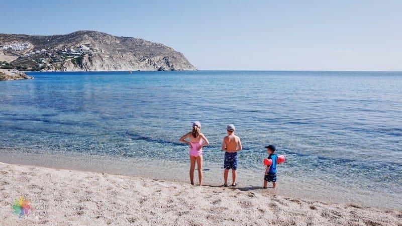 Agrari Beach Mykonos gezilecek yerler