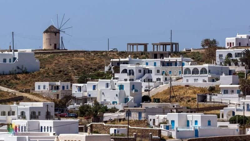 Ano Mera Mykonos gezilecek yerler