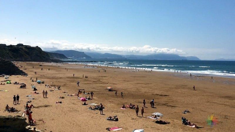 Sopelana beach Bilbao'da görülecek yerler