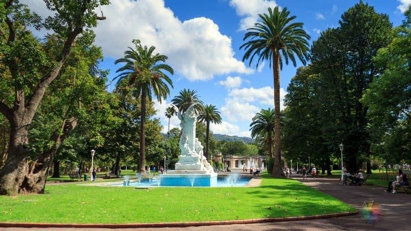 Dona Casilda Iturrizar Park Bilbao gezilecek yerler