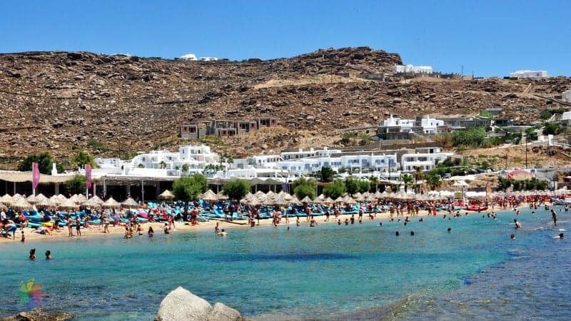 Paradise Beach Mykonos'ta gezilecek yerler