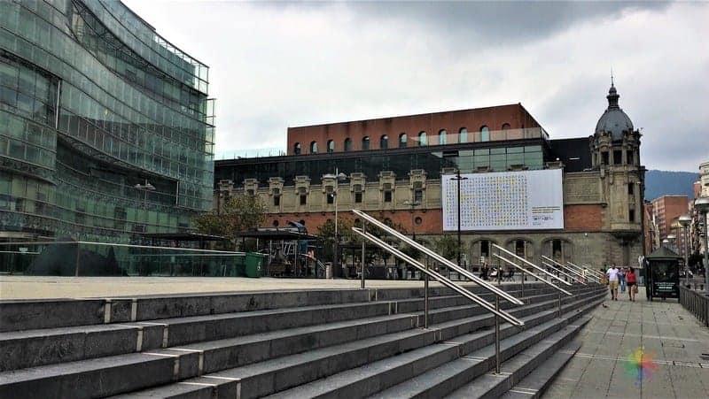Plaza Bizkaia Bilbao gezilecek yerler