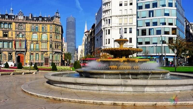 Plaza Moyua Bilbao gezilecek yerler