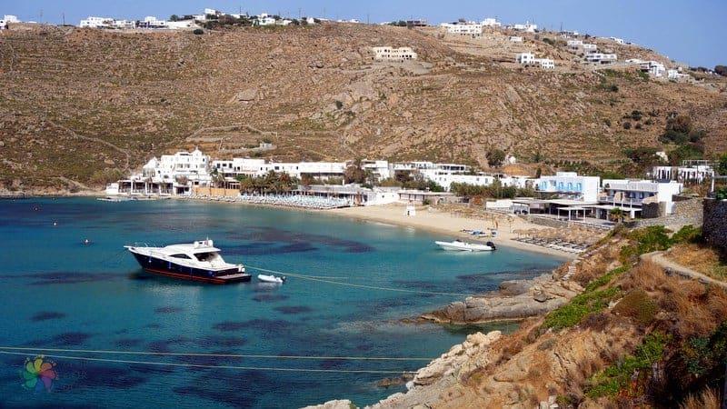 Psarou beach En ünlü Mikonos plajları