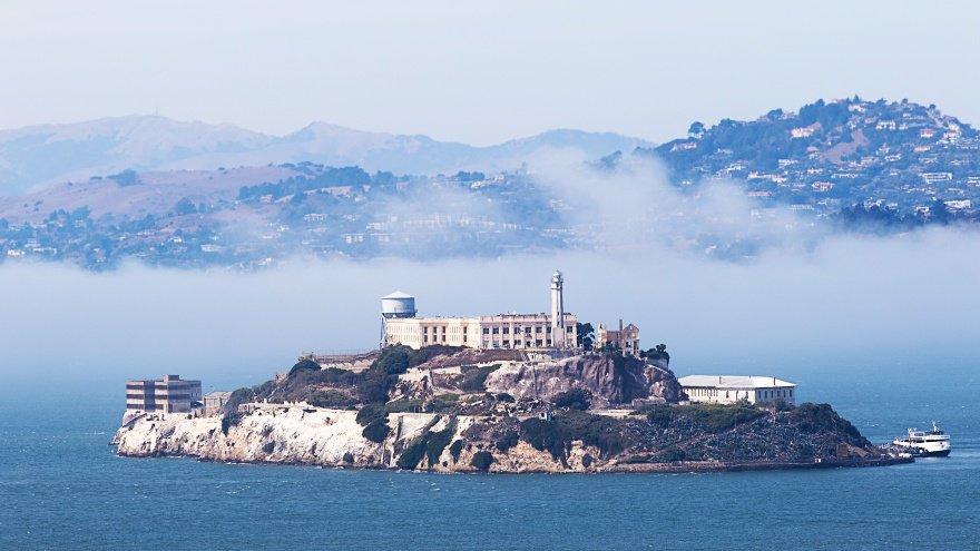 Alcatraz San Francisco'da yapılacak şeyler listesi