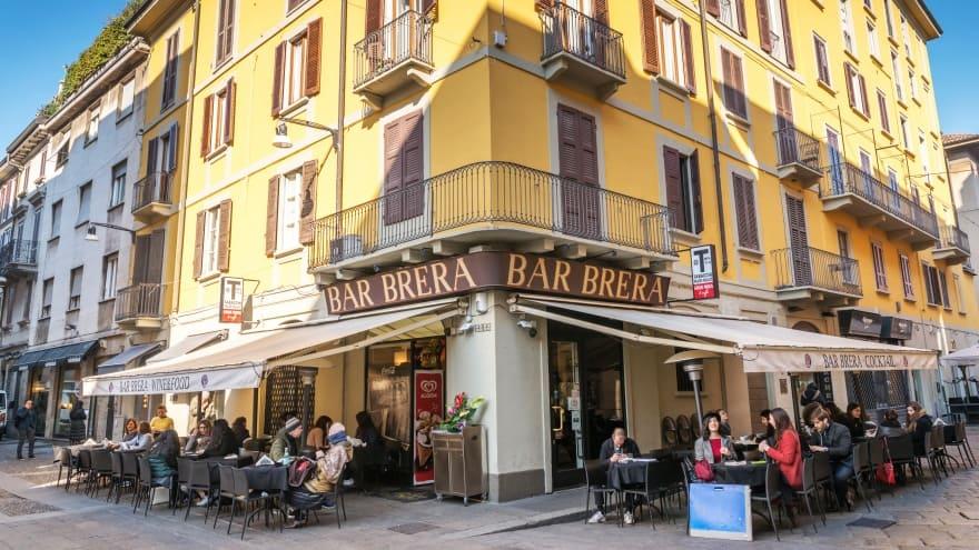 Milano'da yapılacak şeyler Brera bölgesi
