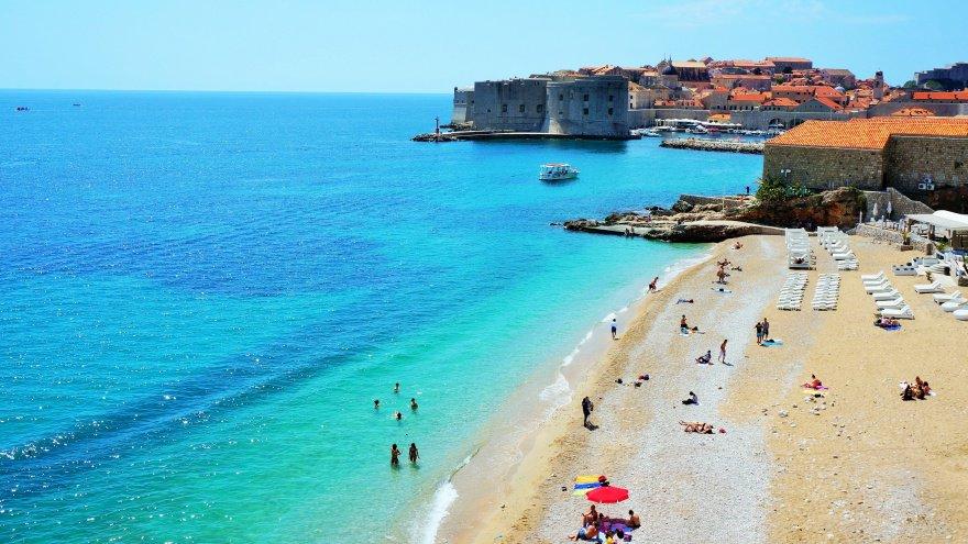 Dubrovnik'te yapılması gerekenler plaj, deniz