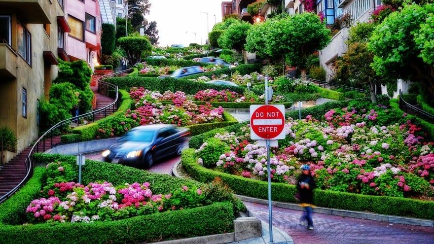 Lombard Caddesi San Francisco'da ne yapılır?
