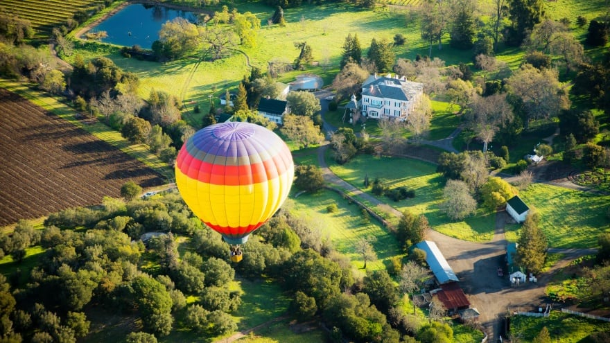 San Francisco'da ne yapılır? Balon Turu
