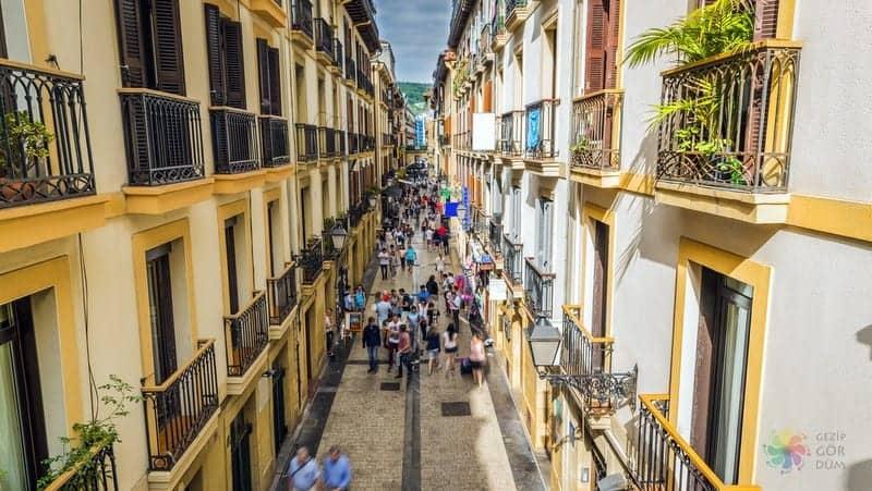 San Sebastian'da nerede kalınır konaklama yapılacak bölgeler