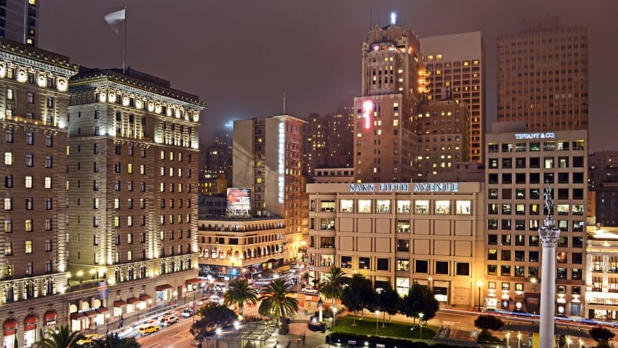 Union Square San Francisco yapılacak şeyler