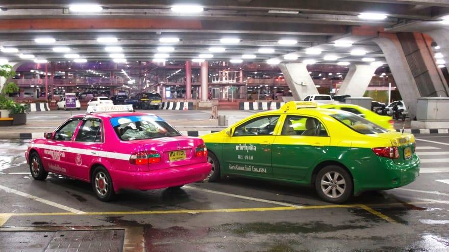 Suvarnabhumi Uluslararası Havaalanı Şehir Merkezi Taksi
